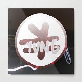 Yen Sign  Yung. Metal Print