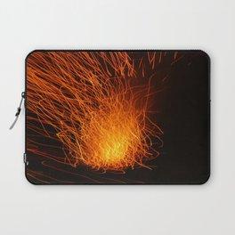 Golden Firework Laptop Sleeve