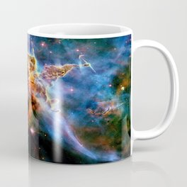 GAlAxY : Mystic Mountain Nebula Coffee Mug