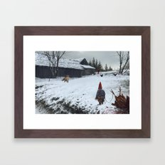 competitors Framed Art Print