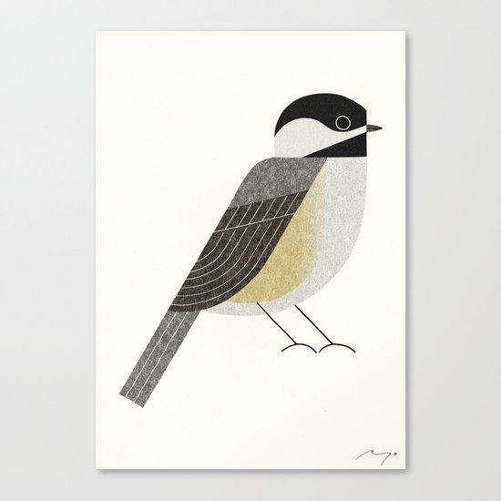 Black-capped chickadee Canvas Print