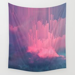 Sweet Stormy Glitches Wall Tapestry