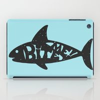 shark iPad Cases featuring SHARK! by Dylan Morang