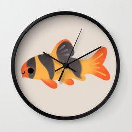 Clown loach Wall Clock