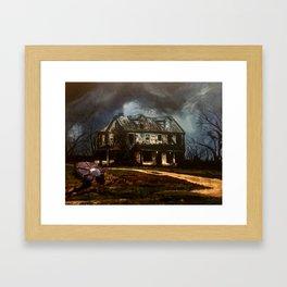 206 Framed Art Print