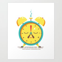 A Time To Rest ENGLISH VERSION Art Print