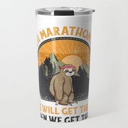 Sloth Marathon, Sloth Marathon Team Travel Mug