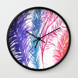 Coral Wall Clock
