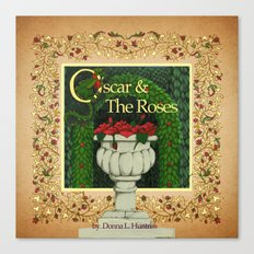Oscar & the Roses book now available on Blurb.com Canvas Print