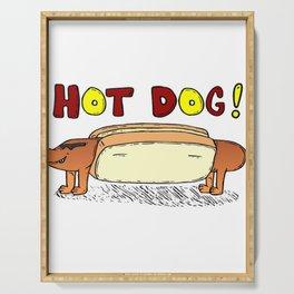 Hot Dog Serving Tray