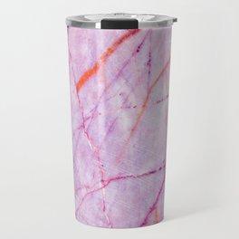 Purple Marble Travel Mug