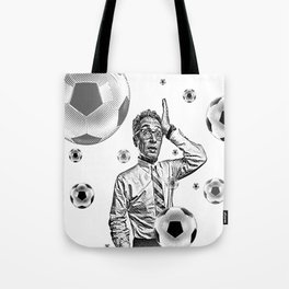 Obsessed Soccer Fan Tote Bag