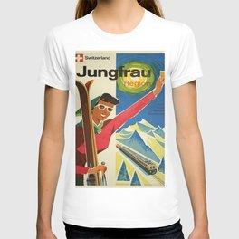 Vintage poster - Jungfrau, Switzerland T-shirt