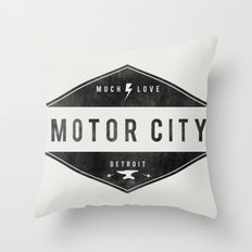 Motor City | Much Love Throw Pillow