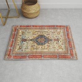 Heriz Silk Northwest Persian Carpet Print Rug