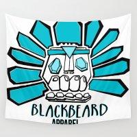 tiki Wall Tapestries featuring Tiki Chief by BlackBeard