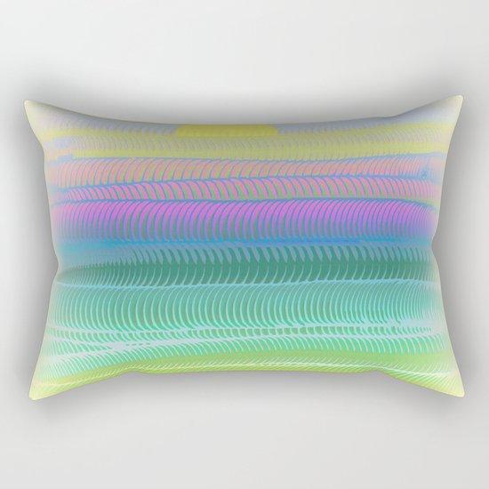 Sun Summer Rectangular Pillow