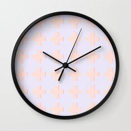 CROSSES Wall Clock