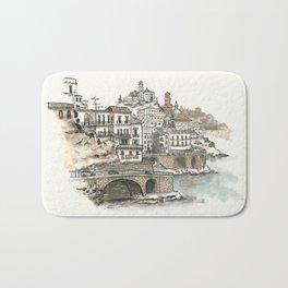 Amalfi Coast memory Bath Mat