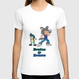 Shiro and Mike-Brains and Brawn T-shirt