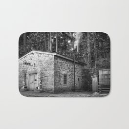 Steam Engine House at Hagley Yard Powder Mill Delaware Bath Mat