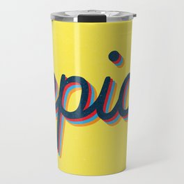 Epic - yellow version Travel Mug