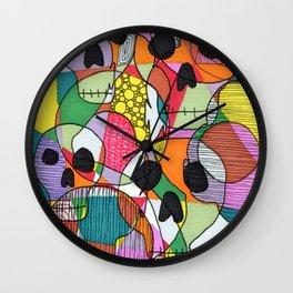 Skulls&Buddha 44 Wall Clock