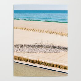 Beach and Ocean Poster