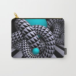 go turquoise -11- Carry-All Pouch
