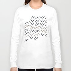 Feathered Long Sleeve T-shirt