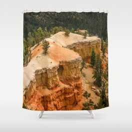 Piracy Point View at Bryce Canyon National Park Shower Curtain
