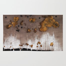 Expresso Head and the Coffee Clouds Rug