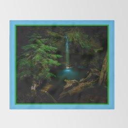 Big Basin Redwood State Park, Boulder Creek, CO Throw Blanket