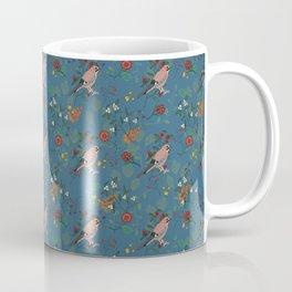Shy little Jay in blue Coffee Mug