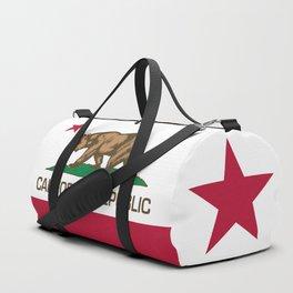 California Republic Flag - Bear Flag Duffle Bag