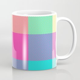 Summer Plaid 26 Coffee Mug