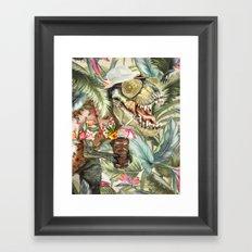 Hunter S. T-Rex Framed Art Print