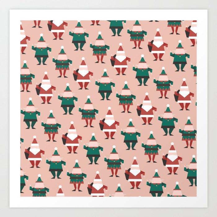 Toy Factory 02 (Patterns Please) Art Print