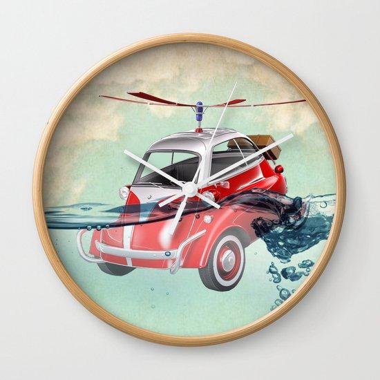Isetta  all terrain vehicle Wall Clock