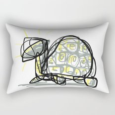 Holy Turtle Rectangular Pillow