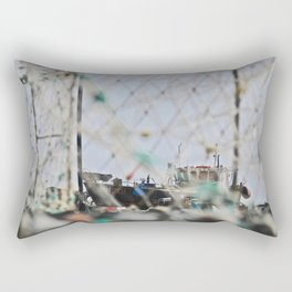Through the Lobster Cages Rectangular Pillow