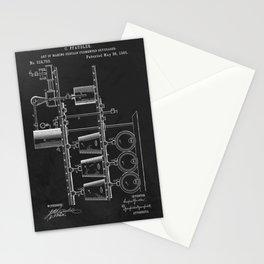 Beer Whisky Still Distillery Patent Stationery Cards