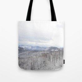 Winter in Transylvania Tote Bag