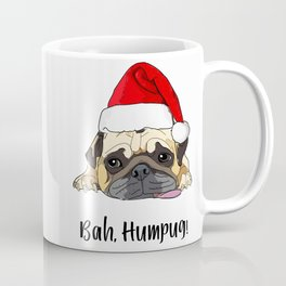 Bah Humpug Santa Dog Coffee Mug