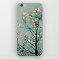 the lights iPhone & iPod Skins featuring Lights  by Laura Ruth
