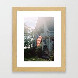 Maine Home Framed Art Print