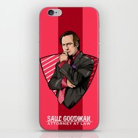 lawyer iPhone & iPod Skins featuring You need a lawyer? by Akyanyme