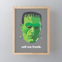 frank Framed Mini Art Print