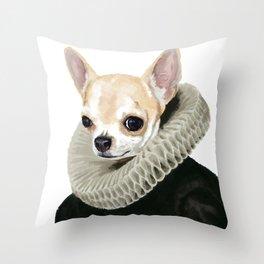 Lady Chi of Wawa Throw Pillow