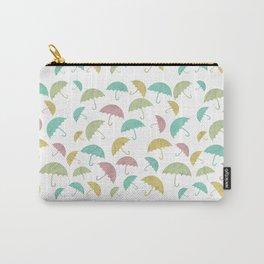 Umbrella pattern // Umbrella illustration // umbrella lovers // hand drawn umbrella Carry-All Pouch
